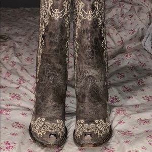 Corral Embroidered Cowboy Boots